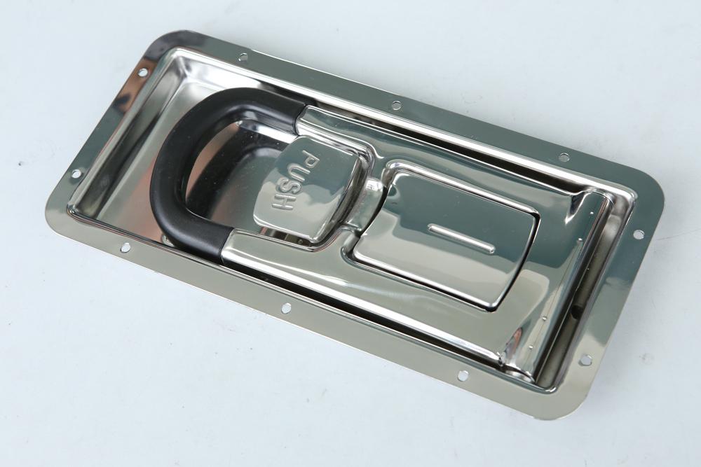 trailer truck stainless steel recessed door lock 16mm