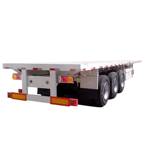3 axle flatbed side wall semi truck trailer and 6x4 Sinotruk tractor truck