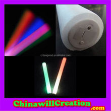 New coming special design celebration prop LED foam stick custom