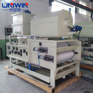 automatic running belt filter press for sludge wastewater treatment plant