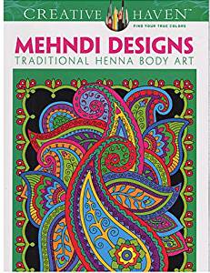 Buy Dover Creative Haven Coloring Books Mehndi Designs In Cheap