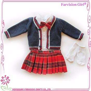 20 Inch Doll Free Knitting Patterns Uniform Dolls Clothes Buy