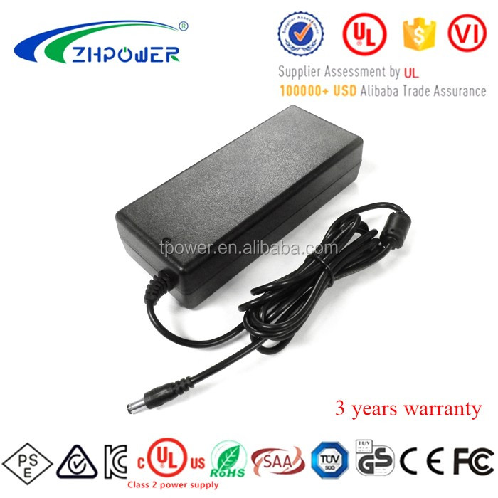 External 12 V 10 a 120W Switching power supply 12V 10A ac dc power supplies DOE CEC level VI With UL CE PSE KC SAA listed