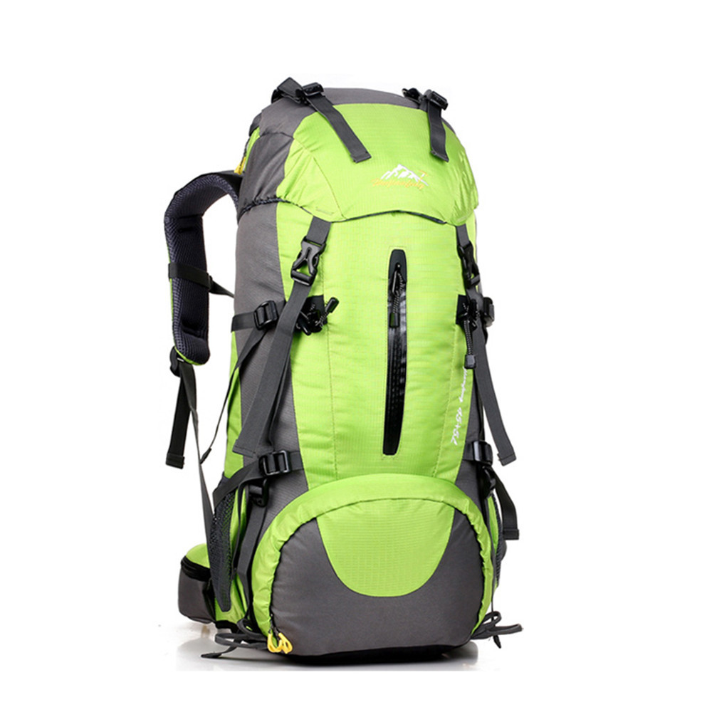 94d95b403740 Get Quotations · Mountaineering Bags 45L Escalada Mochila Hiking Backpack  Professional Climbing Bag Large Waterproof Bags Big Camping Backpack