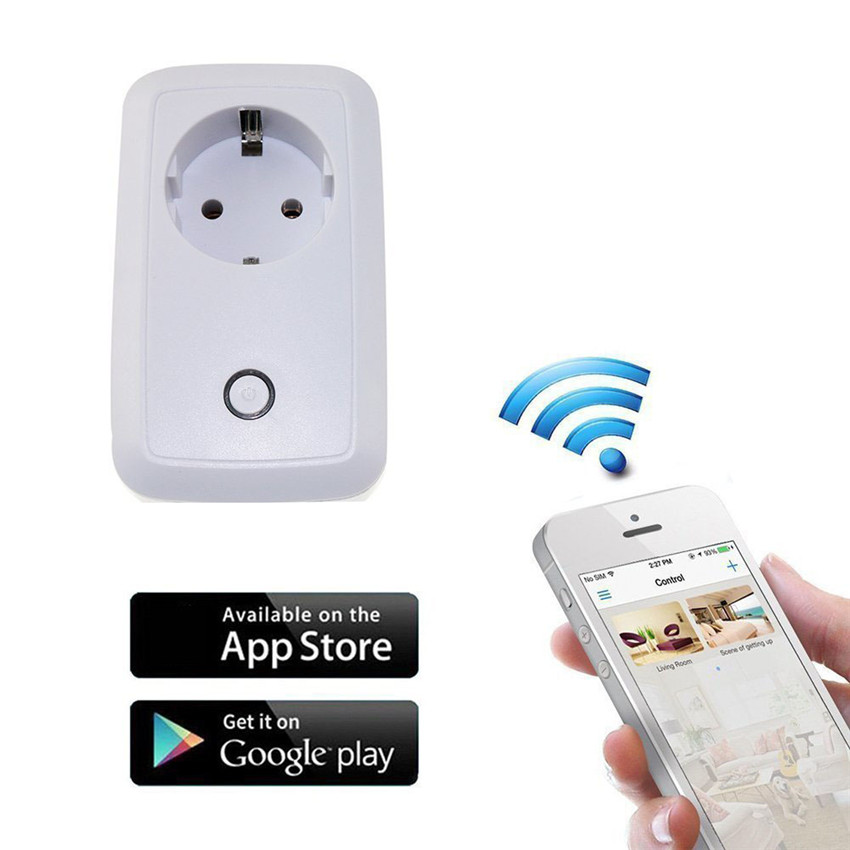 WiFi Smart Socket Outlet Mini 2017 Smart Plug Turn ON/OFF Electronics from Anywhere CA6335