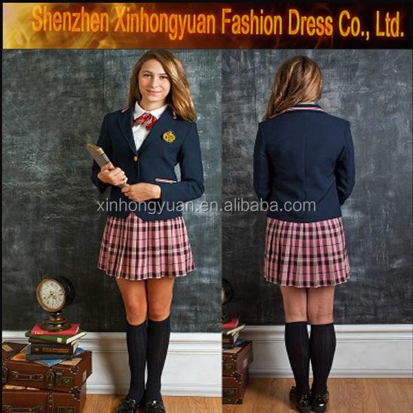 french school uniform different kinds of french school uniform, View french  school uniform, XHY Product Details from Shenzhen Xinhongyuan Fashion