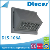 2015 UL driver led wall pack light with 2 years warranty DLS