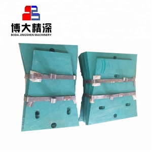 Replacement parts for nordberg C125 C140 C145 C160 C200 protection plate  jaw crusher spare parts