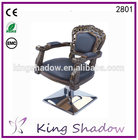 2016 Chic Brown barber chair barber styling chair hair salon makeup station equipment manufacturer