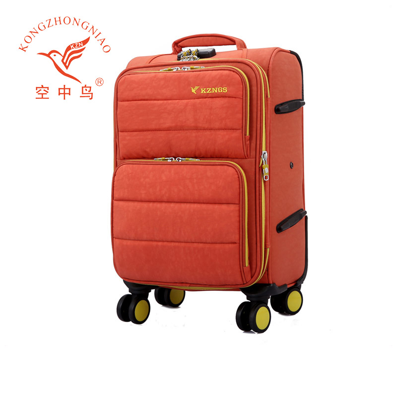 Alibaba China luggage distributor on wheels travel unique design luggage trolley bag