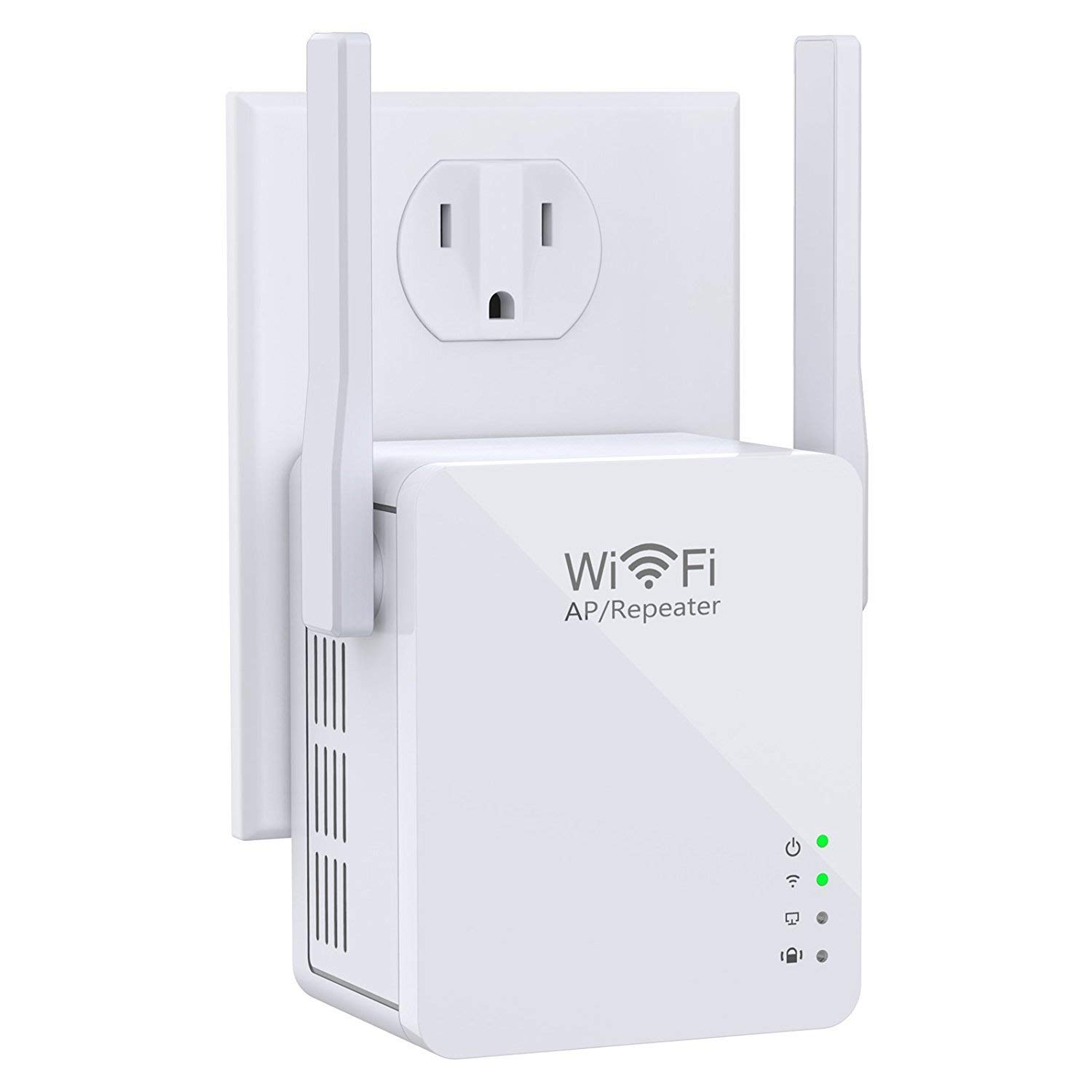 CXCase Wi-Fi Range Extender, Access Point Mode/Repeater Mode WiFi Repeater With Micro USB Port