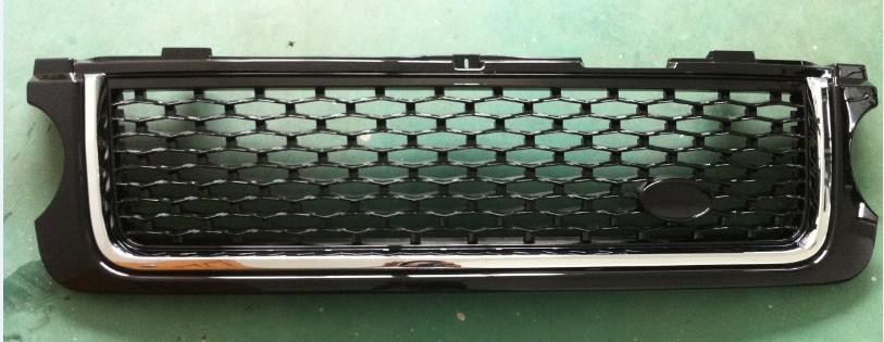 For range rover vogue 2010 grille all black/grille all chrome/side vent silver