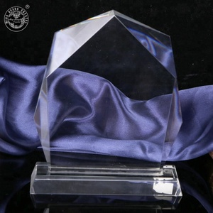 MH-JB188 Blank Crystal Trophy crystal award paperweight