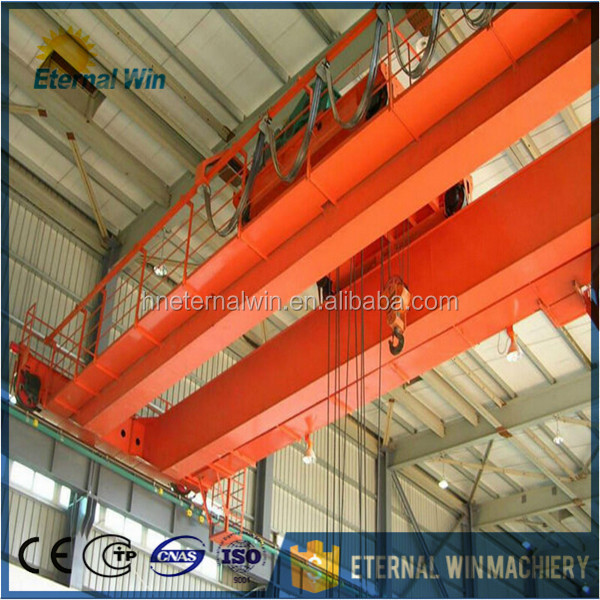 From crane hometown Grab Bucket bridge Crane with double hook