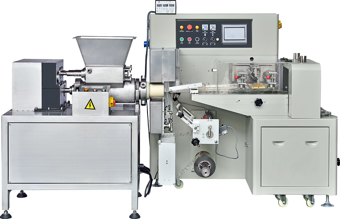 Suikerpasta Machine Plasticine Extruderen Machine Boetseerklei Extruder
