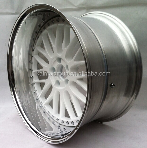 2 Piece Wheels Forged Blank Alloy Car Wheel Rims for USA car | 5 holes| width 6,7,8,9