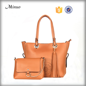 8709- NEW design handmade handbag Leisurely women pu handbag leather elegant pu women fashion handbag