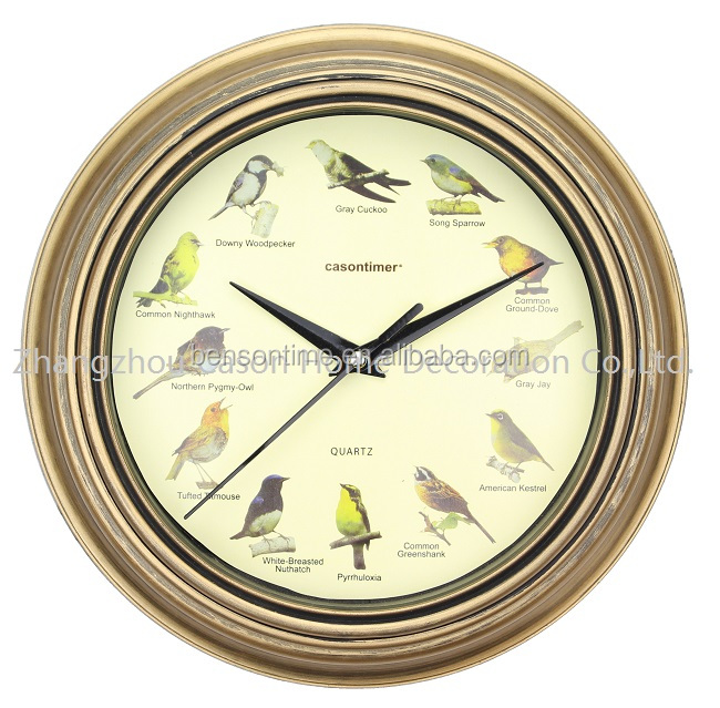 Cason Bird sound funny clock