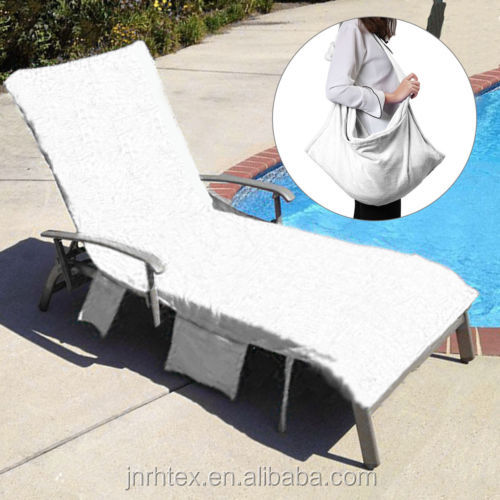 Thicker Sun Lounger Mate Carry Pockets Beach Towel Bag