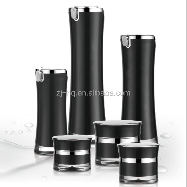 L08 elegant cosmetic bottles and jars