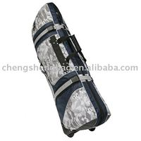 Fashion Customized Golf Travel Cover With Wheels