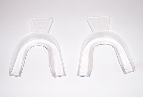 2 Full Mouth Thermoform Dental Teeth Whitening\bleaching Trays -Free Shade Guide