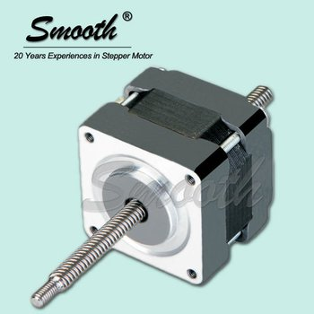 Nema smooth size 16 linear stepper motor buy lead screw for Stepper motor step size