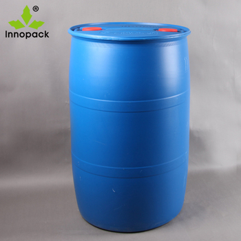 55 Gallon Drum Hdpe Open Top Blue Plastic