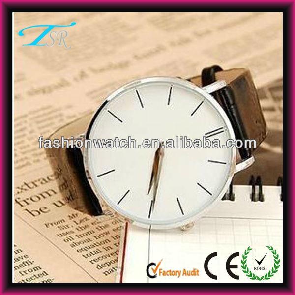 01378565572 Relógio Popular Com Alta Qualidade Bonita China Relógio Barato Para Homens  E Mulheres Simples Mostrador Do Relógio Com Pulseira De Couro - Buy Product  on ...