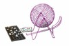 Different Model Of Deluxe Wire Cage Bingo Set Drinking Bingo Game Set