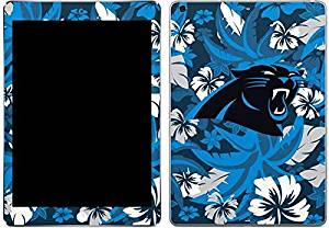 NFL Carolina Panthers iPad Air Skin - Carolina Panthers Tropical Print Vinyl Decal Skin For Your iPad Air