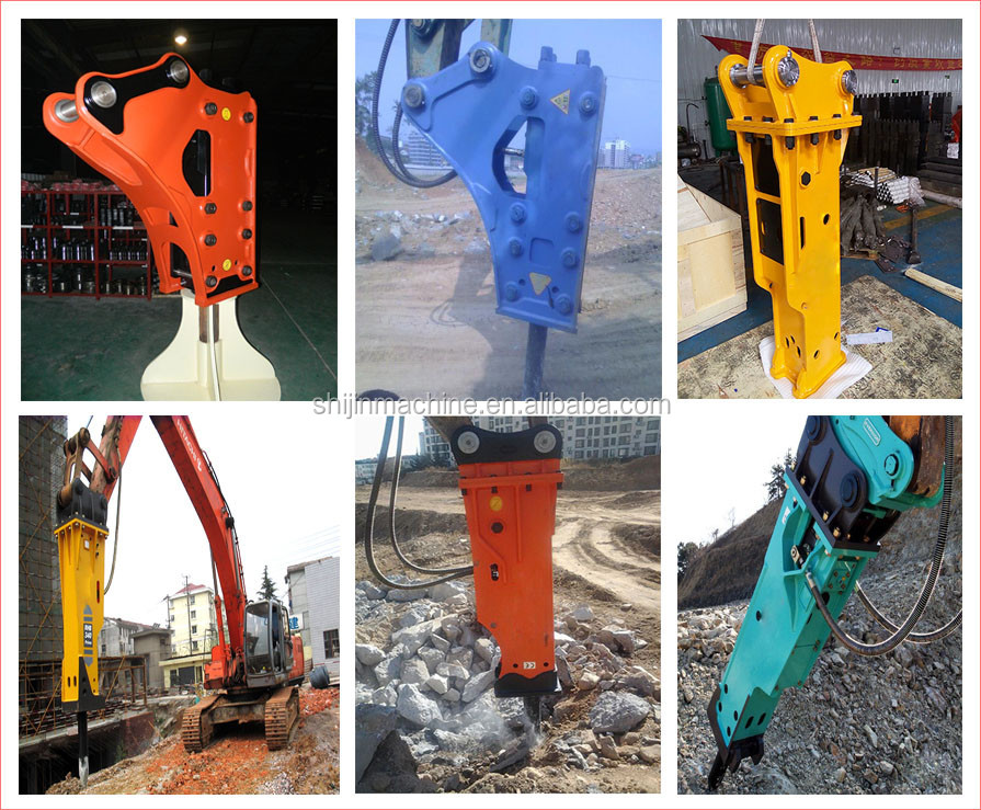 hydraulic breaker popular made in China