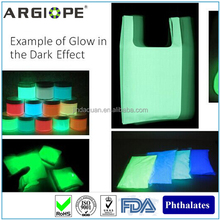 luminous dyestuff SAN glow in the dark pigment for dye, painting