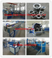 High quality and Best price!!! PVC braided soft pipe making machine