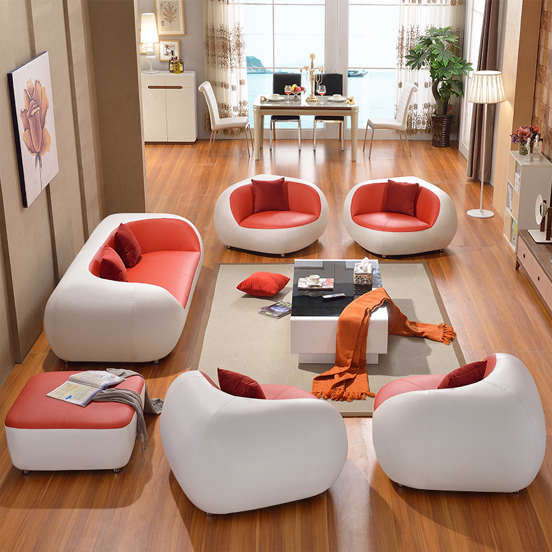 New Model Designer Sofa Sets Leather Cover Fabric Upholster Moden Living  Room Home Decoration - Buy Luxury Leather Sofa Leather Sofa Modern,Living  ...