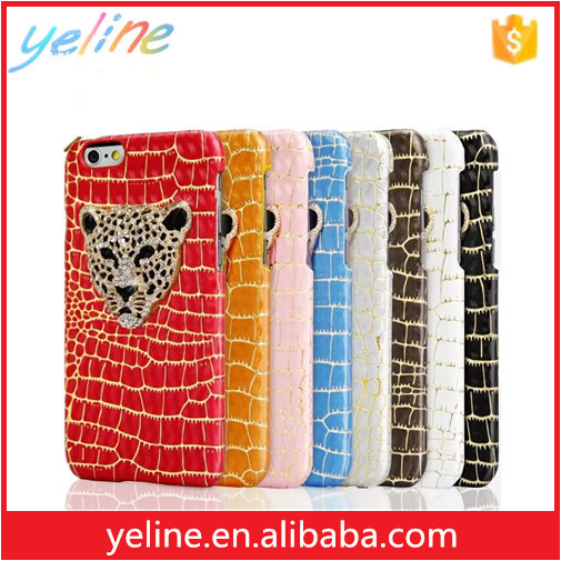 Hot sale leopard print cover case for iphone for samsung