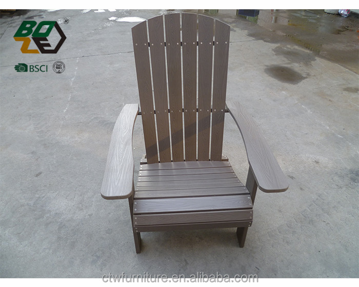 Natural Color Plastic Wooden Garden Chair Adirondack Chair Buy