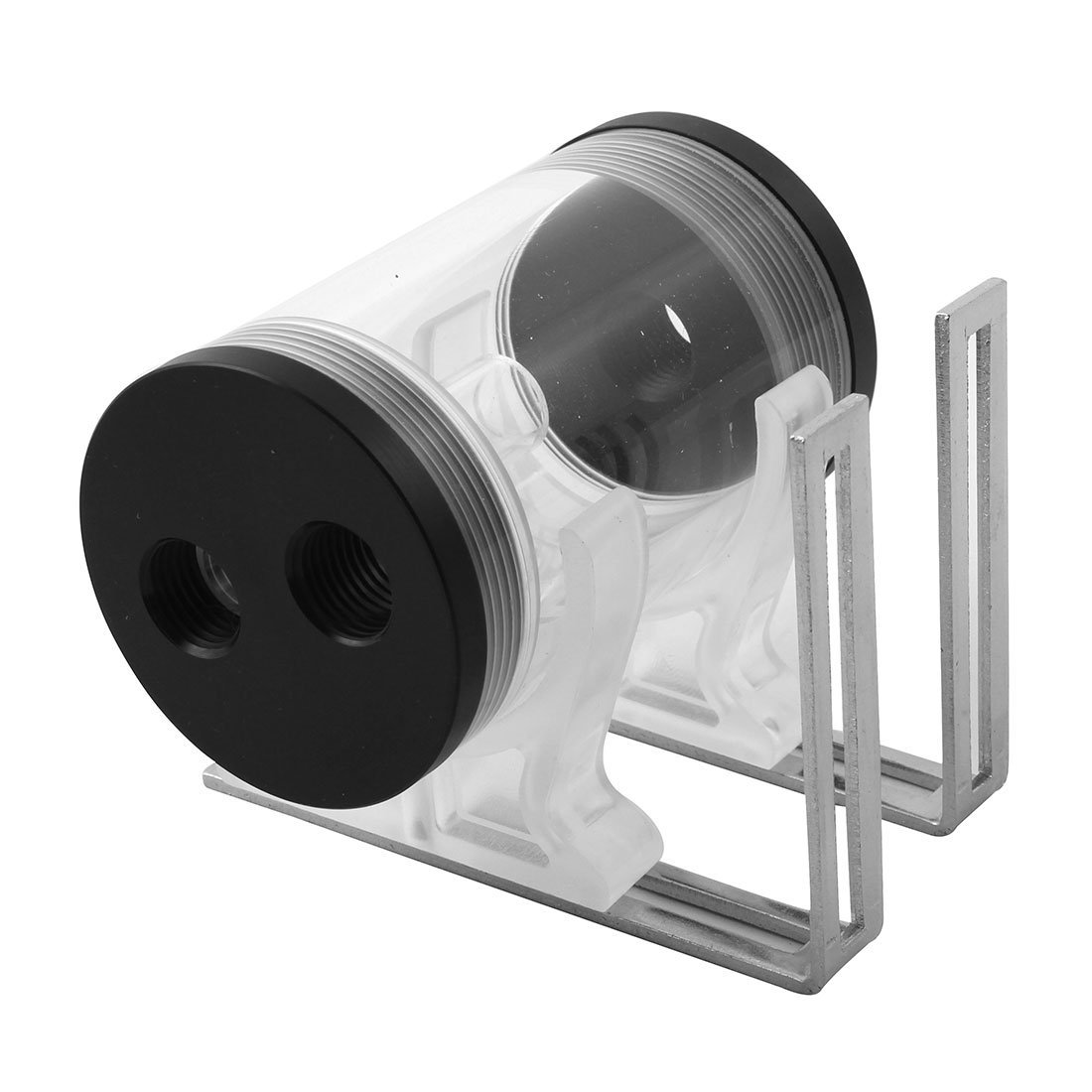 Buy uxcell 50mm Dia 110mm Length Cylindrical Shape Side Outlet PMMA ...