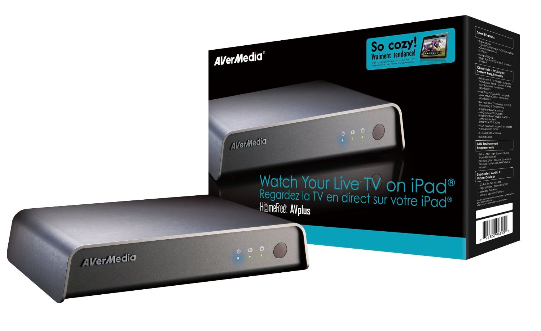 AVerMedia HomeFree Avplus - Watch Live TV on iPad/laptop