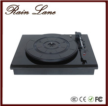 Rain Lane High end piano varnish high glossy retro turntable record player