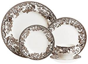 Spode Delamere 5-Piece Place Setting, Service for 1 by Spode