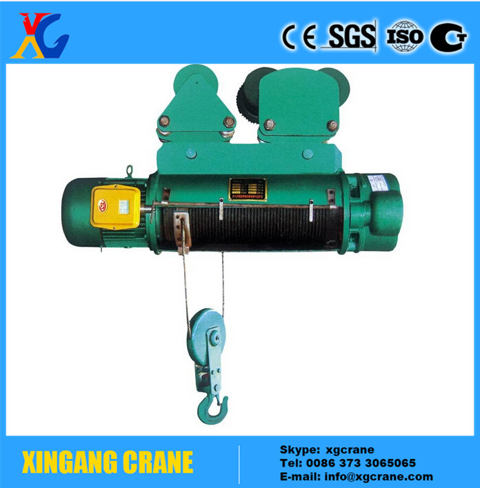 With Stable Performance Double Speed Electric Harga Hoist Crane 5 ...