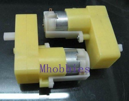 2x Dual axle reduction gear motor for 2wd Magic car 4wd robot chassis rc cars 2piece