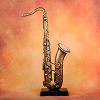 Life Size Craft Artificial Modern Figure Character musical instrument sculpture
