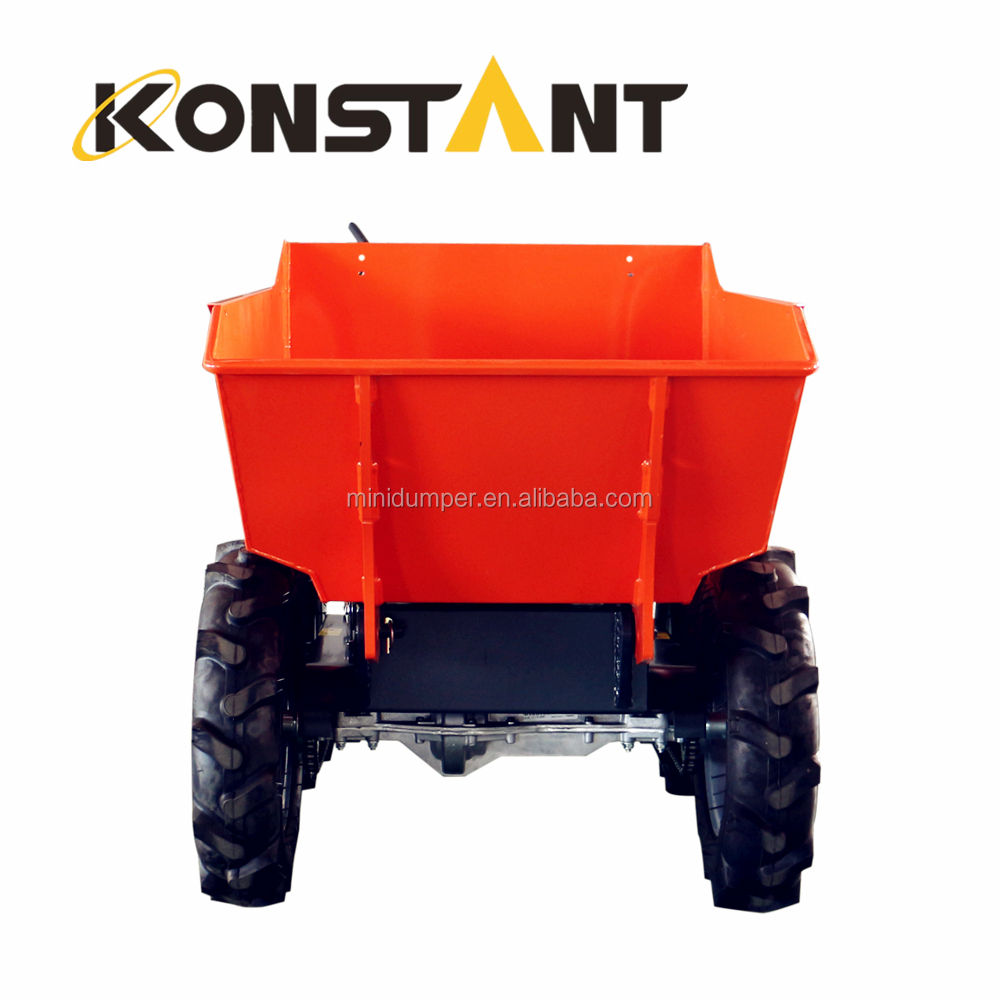 Gasoline Powered Mini Wheel Loader for Construction
