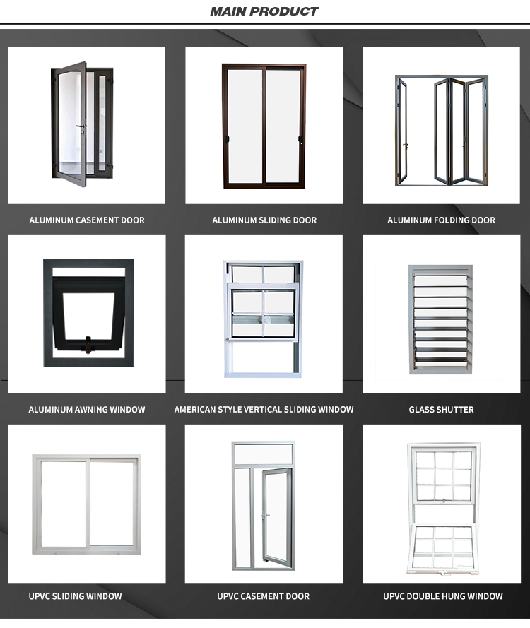 China Sliding Pvc Windows