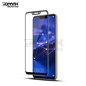 Full cover 9H 0.33mm 3D premium clear tempered glass cellphone screen protector for Huawei mate 20 lite