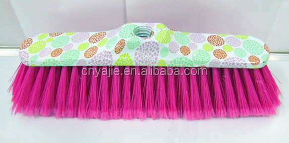 recyle material printed popular cheap price plastic broom cleaning