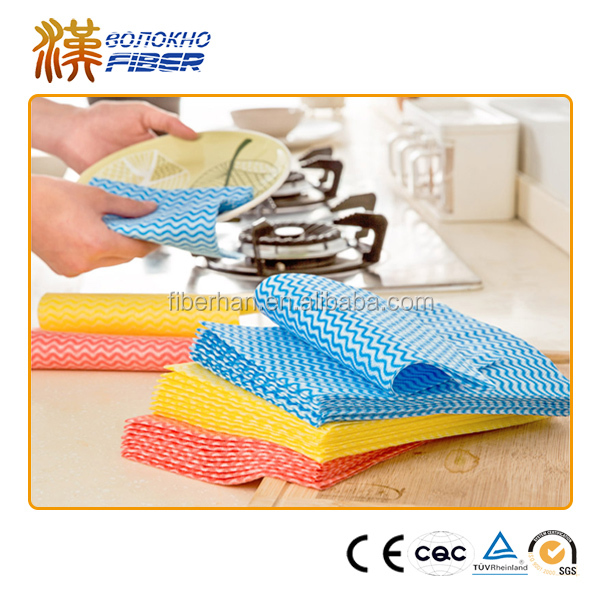 50%bamboo fiber+50%bamboo pulp material Non Woven Disposable Lint free cloth
