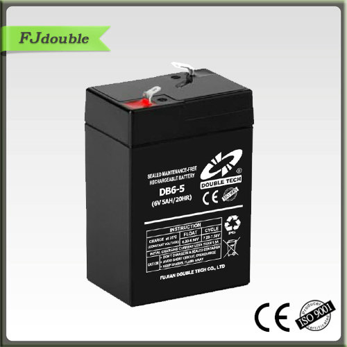 high quality sealed maintenance free 6v 4 5ah battery